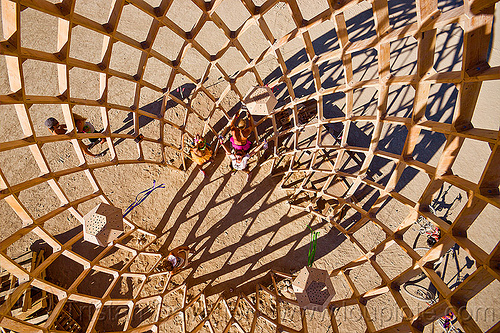 opalessence - burning man 2012, art, art installation, c.o.r.e., circle of regional effigies, core project, egg, wooden egg, wooden frame