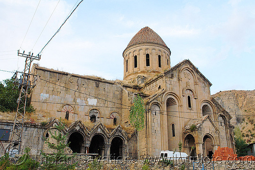 oshki monastery - georgian church ruin (turkey), byzantine architecture, georgian church, orthodox christian, oshki monastery, religion, öşk, öşkvank