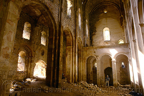 otkhta monastery - georgian church ruin (turkey), byzantine, dört kilise, georgian church, okhta ecclesia, orthodox christian, otkhta monastery, religion, ruins