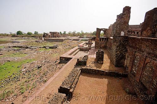 palace ruin - mandu (india), mandav, ruins
