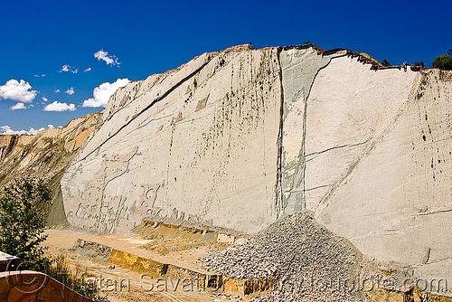 parque cretácico - sucre (bolivia), cliff, dinosaur footprints, dinosaur park, parque cretacico, parque cretácico, slab