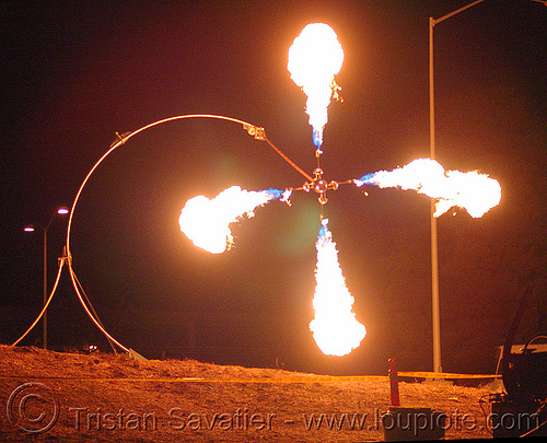 pendulum of fire, fire art, fire arts festival, pendulum of fire, pyrokinetics, the crucible