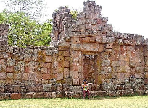 ปราสาทหินพนมรุ้ง - phanom rung festival - thailand, door, phanom rung festival, ruins, temple, wall, ประเทศไทย, ปราสาทหินพนมรุ้ง