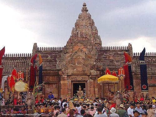 ปราสาทหินพนมรุ้ง - phanom rung festival - thailand, phanom rung festival, show, stage, temple, ประเทศไทย, ปราสาทหินพนมรุ้ง