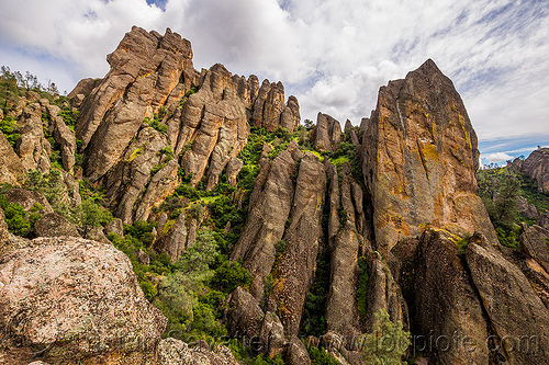 pinnacles national park (california), cliff, hiking, pinnacles national park, rock formations