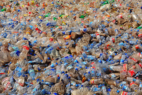 plastic bottles trash, dump, environment, garbage, kurdistan, plastic bottles, plastic trash, pollution, recycling, single-use plastics