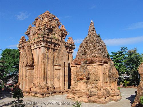 po nagar cham towers (nha trang) - vietnam, cham temples, cham towers, hindu temple, hinduism, nha trang, po nagar