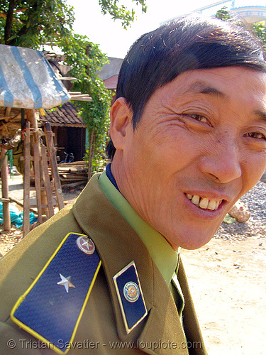 policeman - vietnam, cop, law enforcement, man, police officer, police uniforms, policeman, uniform, vietnam