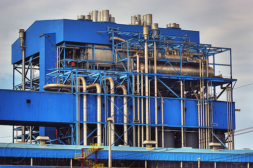 power plant - paiton complex (indonesia), coal fired, electricity, energy, factory, industrial, java, paiton complex, pipes, power generation, power station