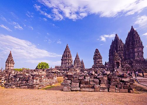 prambanan temples, java, jogja, jogjakarta, yogyakarta