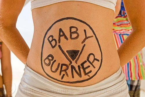 pregnant with baby burner - burning man 2013, baby burner, burning man, pregnant, woman