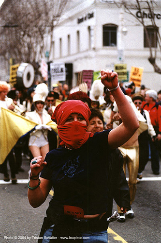 protester with face mask - demonstration, civil unrest, demonstration, hijab, protester, street protest, woman