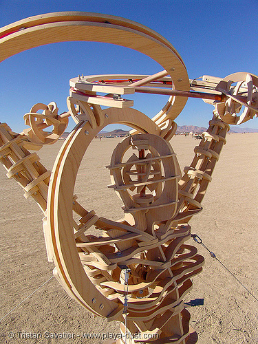 psyche and perception by tom wilson - burning-man 2005, art installation, burning man, psyche and perception, tom wilson