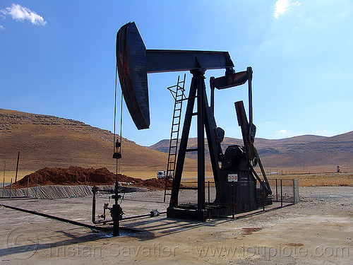 pumpjack, crude oil, kurdistan, oil field, pump, pumpjack