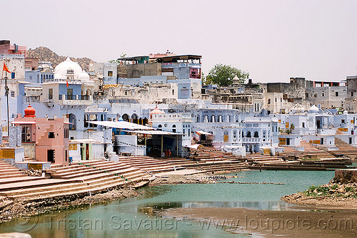 pushkar lake and ghats, ghats, india, pushkar lake, pushkar sarovar, पुष्कर-सरोवर