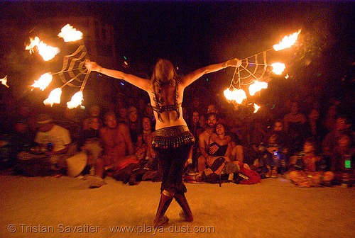 pyronauts of giza - fire conclave - burning man 2007, burning man, fire conclave, flames, night of the burn, pyronauts of giza