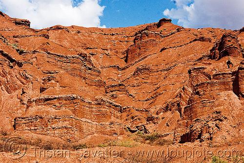 quebrada de las conchas, near cafayate (argentina), calchaquí valley, canyon, cliffs, mountains, noroeste argentino, quebrada de cafayate, quebrada de las conchas, rock, valles calchaquíes