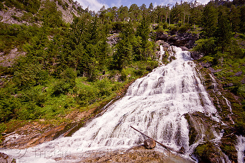 quellen buchweißbach - waterfall, austria, austrian alps, cascade, creek, falls, hiking, karst resurgence, mountains, quellen buchweißbach, river, saalfelden, spring, via ferrata, water, waterfall