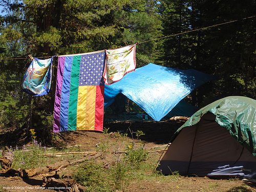 rainbow american flag, american flag, hippie, rainbow family, rainbow flag, rainbow gathering, us flag