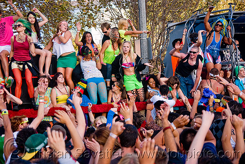 ravers at lovevolution - lovefest (san francisco), festival, love fest, lovevolution, rave party, ravers