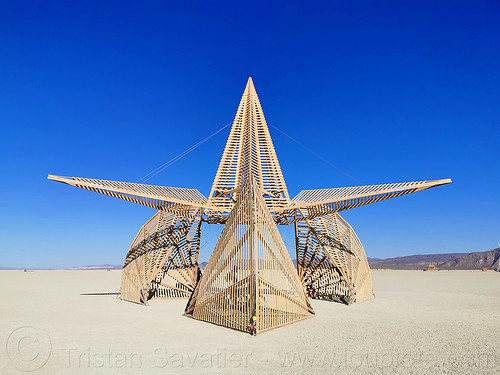 reactor project - burning man 2019, art installation, burning man, sculpture, the reactor project, wood