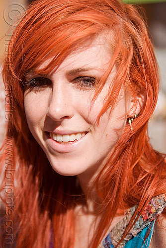 redhead woman with long hair, how weird festival, paige, red hair, redhead, woman