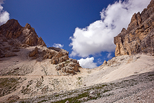 rifugio passo principe and catinaccio d'antermoia, alps, catinaccio d'antermoia, dolomites, dolomiti, mountaineering, mountains, passo principe, rifugio, via ferrata
