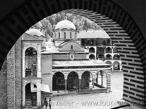rila - rilski monastery - church (bulgaria), church, rila, rilski manastir, rilski monastery, vault, българия, рилски манастир