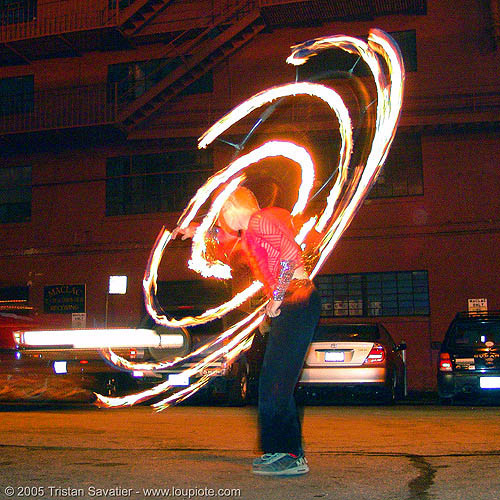 rings of fire - LSD fuego, fire dancer, fire dancing, fire hula hoop, fire performer, fire poi, fire spinning, hula hooping, night, spinning fire