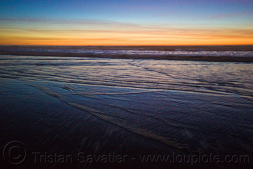 ripples - ocean beach sunset (san francisco), sea, seashore, shore, water