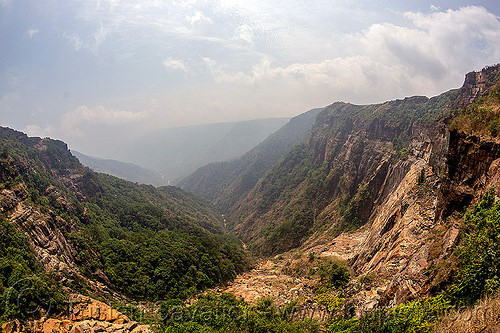 rugged valley in east khasi hills (india), cherrapunjee, cherrapunji, cliff, east khasi hills, meghalaya, mountains, sohra, valley