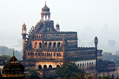 rumi darwaza - turkish gate - lucknow (india), architecture, city gate, lucknow, monument, roomi darwaza, rumi darwaza, turkish gate