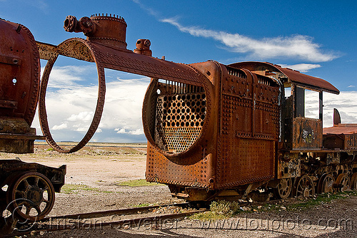 rusty steam locomotive boiler - train cemetery - uyuni (bolivia), boiler, bolivia, enfe, fca, railroad, railway, rusty, scrapyard, steam engine, steam locomotive, steam train engine, train cemetery, train graveyard, train junkyard, uyuni
