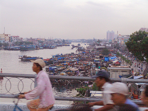 saigon - river - boats - vietnam, boats, ho chi minh city, river, saigon, water