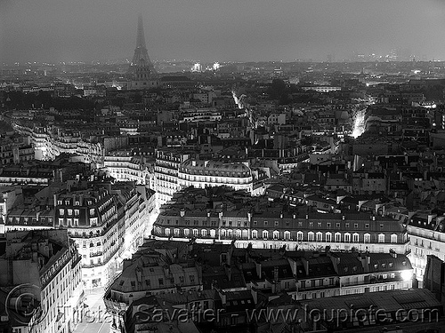 saint-germain-des-prés at night (paris), aerial photo, cityscape, long exposure, night, paris, saint germain, saint-germain-des-pres, saint-germain-des-prés, saint-sulpice, streets, trespassing, urban exploration, urban explorer