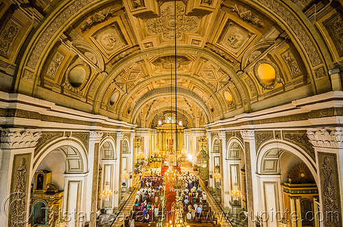 san augustin church - manila (philippines), architecture, ceiling, interior, manila, philippines, religion, san augustin church, trompe l'oeil