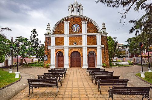 san jacinto ermita church - tuguegarao (philippines), :san jacinto ermita church, architecture, brick, philippines, religion, tuguegarao
