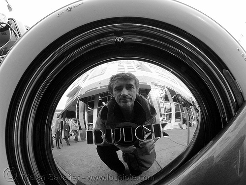 self-portrait - the american dream - 1937 buick century, 1937, american dream, automobile, buick century, classic car, johnny stokes, man, reflection, self portrait, selfie, tristan savatier, wheel