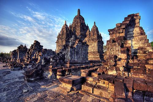 sewu - buddhist temple ruins, archaeology, buddhism, candi sewu, java, jogja, jogjakarta, yogyakarta