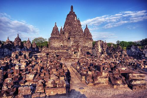 sewu - ruins of buddhist temple, archaeology, buddhism, candi sewu, java, jogja, jogjakarta, yogyakarta