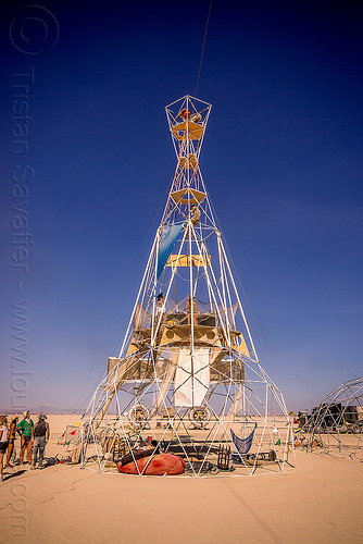 sextant tower - burning man 2015, burning man, sextant camp, sextant tower