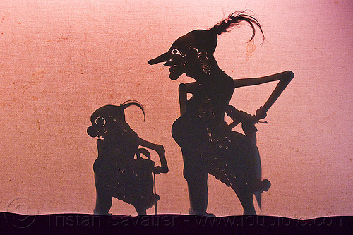 shadow puppets - wayang kulit, java, jogja, jogjakarta, shadow play, shadow puppet theatre, shadow puppetry, shadow theatre, yogyakarta