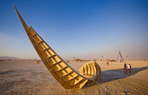 shipwreck - burning man 2013, art installation, burning man, playa, shipwreck sculpture