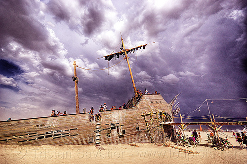 v2 - shipwreck in storm, burning man, clouds, la llorona, pier 2, ship, shipwreck, storm, stormy sky