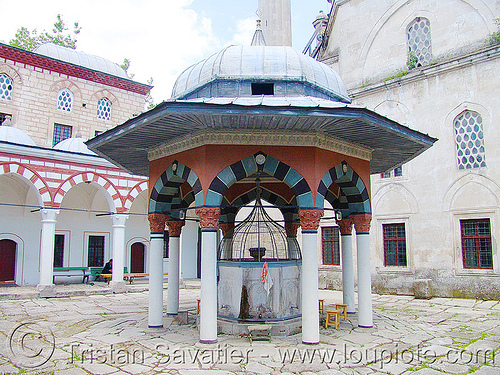 shumen-mosque - water well (bulgaria), couryard, islam, mosque, shumen, water well