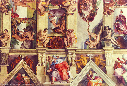 sistine chapel fresco, cappella sistina, frescoes, michelangelo, rome, sixtine, sixtine chapel, vatican