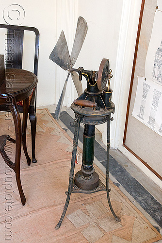 steam-powered air fan used by maharaja - udaipur (india), air fan, machine, steam engine, udaipur