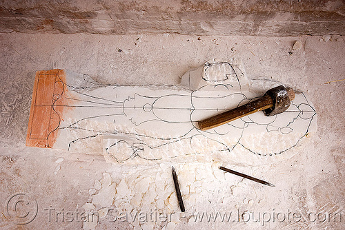stonecarvers - jaipur (india), jaipur, stonecarvers, stonemasons