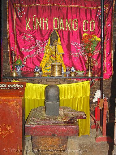 stone lingam - linga - po nagar cham towers (nha trang) - vietnam, cham temples, cham towers, hinduism, linga, nha trang, po nagar, shiva lingam, stone lingam