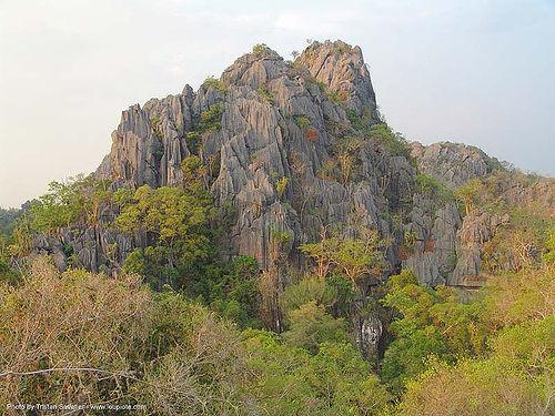 stone maze - karstic area near wang saphung - thailand, karst, karstic, stone maze, wang saphung, ประเทศไทย